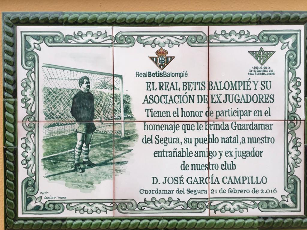 """Mosaico conmemorativo de """"Campillo"""""""