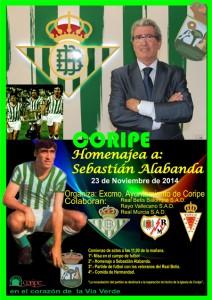Cartel del homenaje a Alabanda