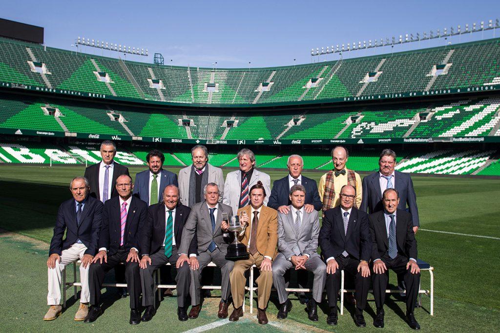 Plantilla del Real Betis ganadora de la Copa del Rey en 1977