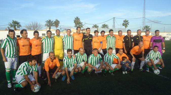 Equipos C.D. Zaidín y Real Betis Balompié