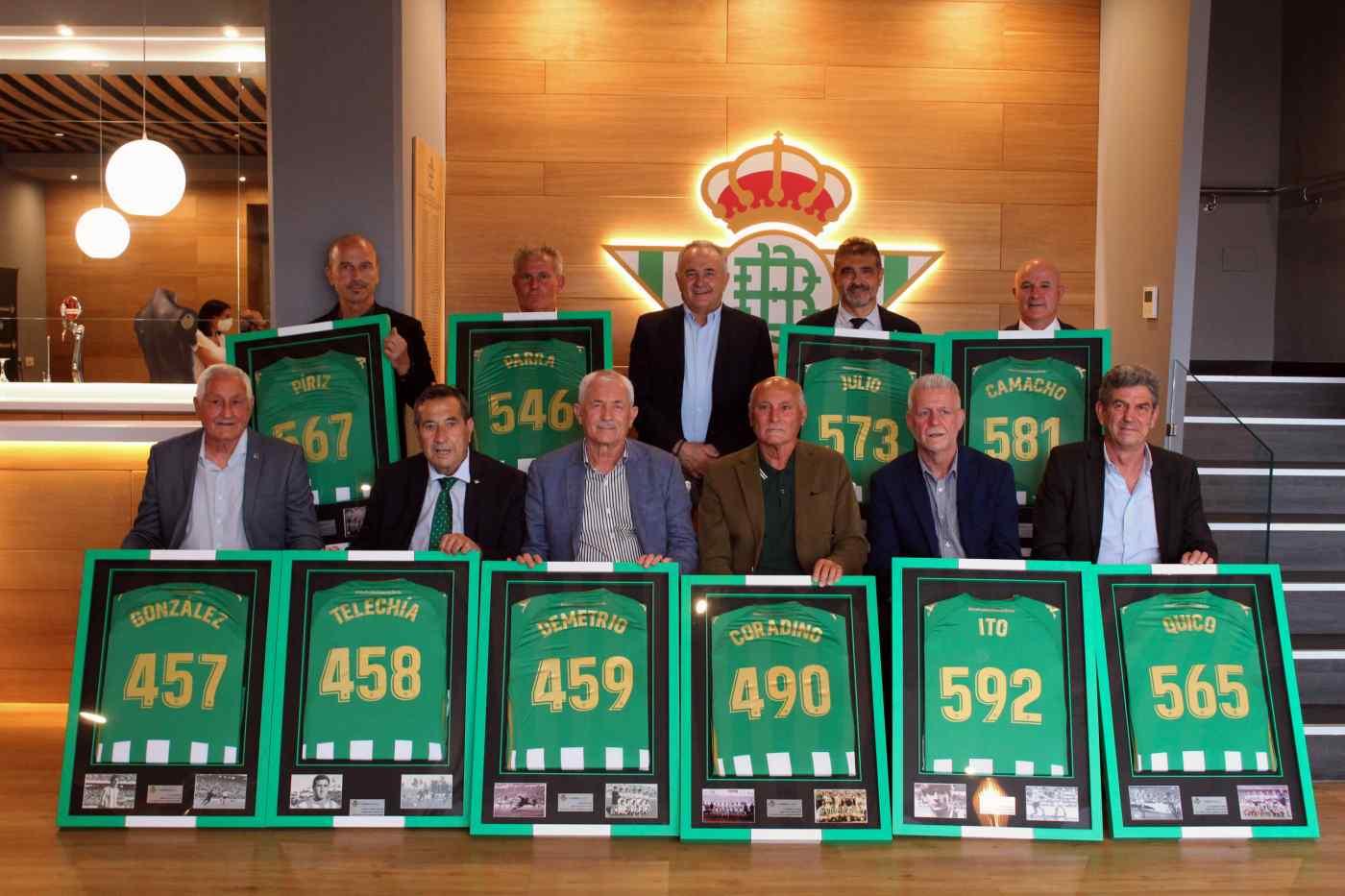 ExJugadores reconocidos por el Real Betis Balompié